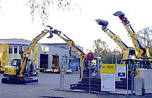 Wacker Neuson Niederlassung in Memmingen