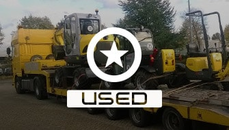 Used light and compact equipment